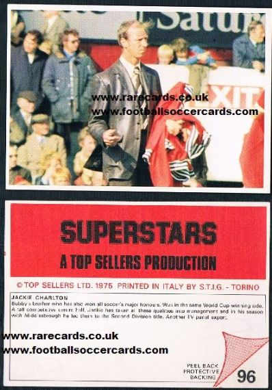 1975 STIG Superstars Boro Charlton